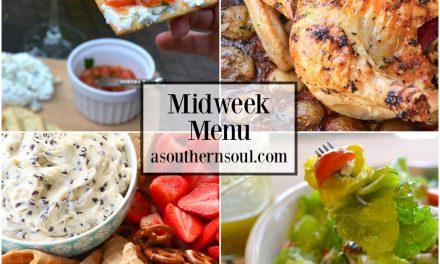 Midweek Menu #37 – Valentine's Day Dinner