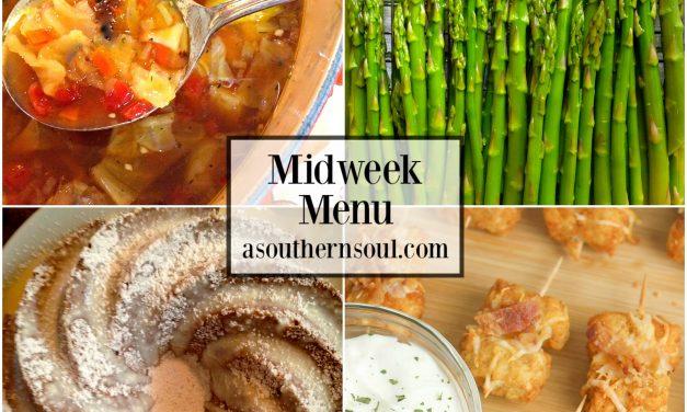 Midweek Menu #38 ~ Amazing Roasted Cabbage Soup