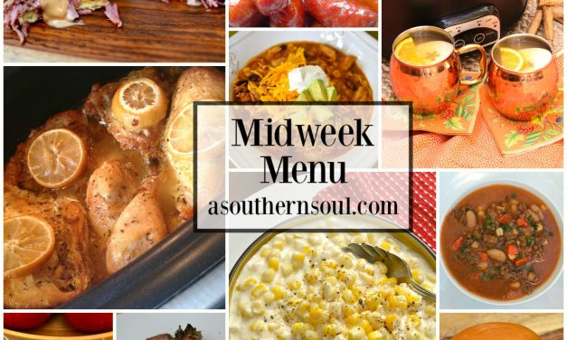 Midweek Menu – Crock Pot Recipes