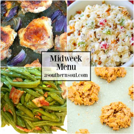 Midweek Menu #42 – Ranch Chicken Thighs