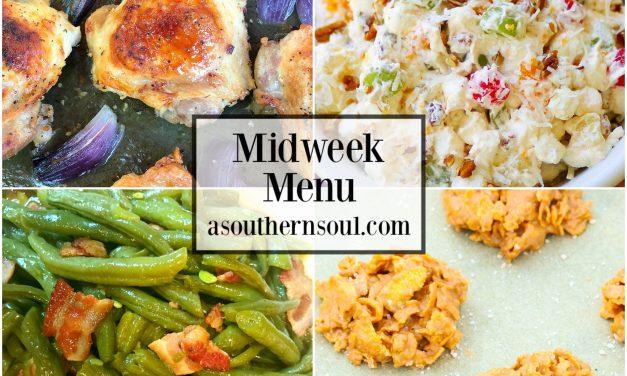 Midweek Menu #42 – Ranch Chicken Thighs