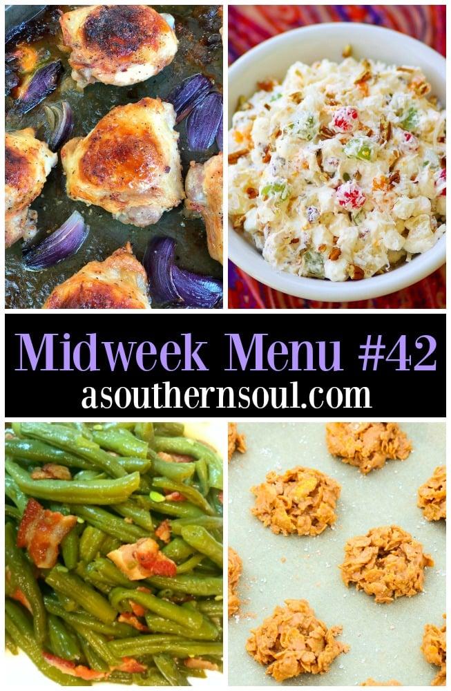 Midweek Menu 42 Ranch Chicken Thighs A Southern Soul