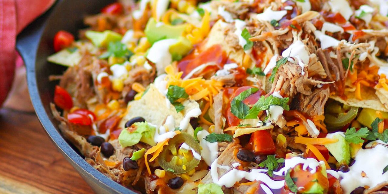 Instant Pot Ultimate Pulled Pork Nachos