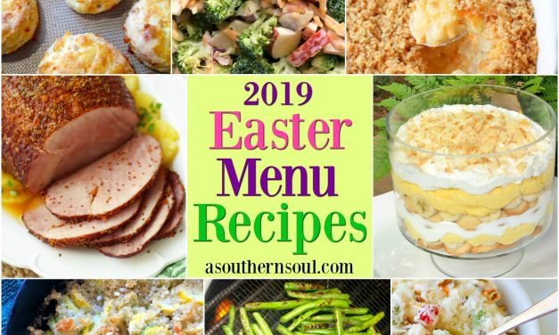 Easter Menu Recipes 2019