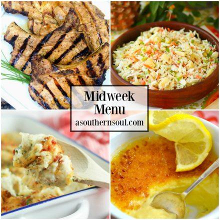 Midweek Menu #44 – Marinated Grilled Pork Chops