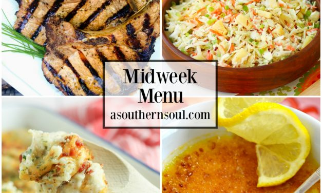 Midweek Menu #44 – Marinated Grilled Pork Chops