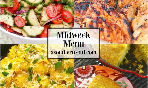 Midweek Menu #46 – Sweet Heat Grilled Chicken