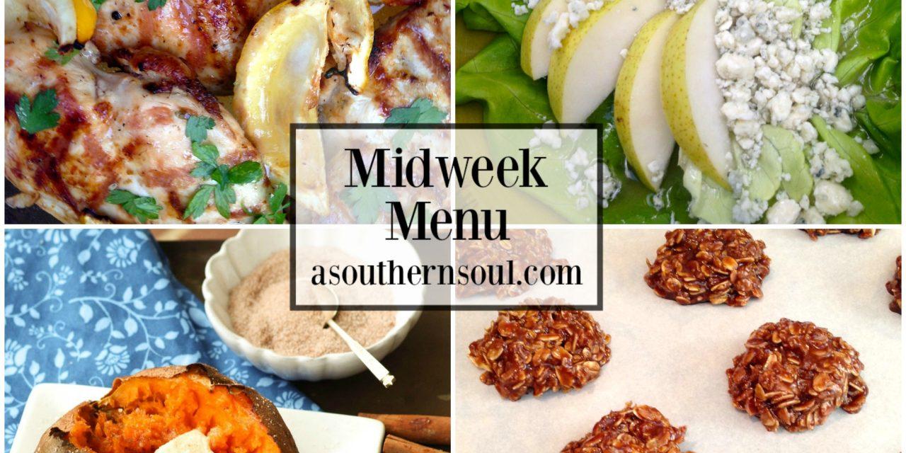 Midweek Menu #48 – Grilled Lemon Chicken