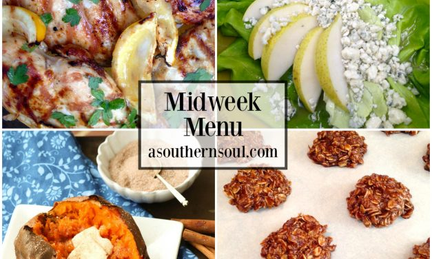 Midweek Menu #48 – Grilled Lemon Chicken