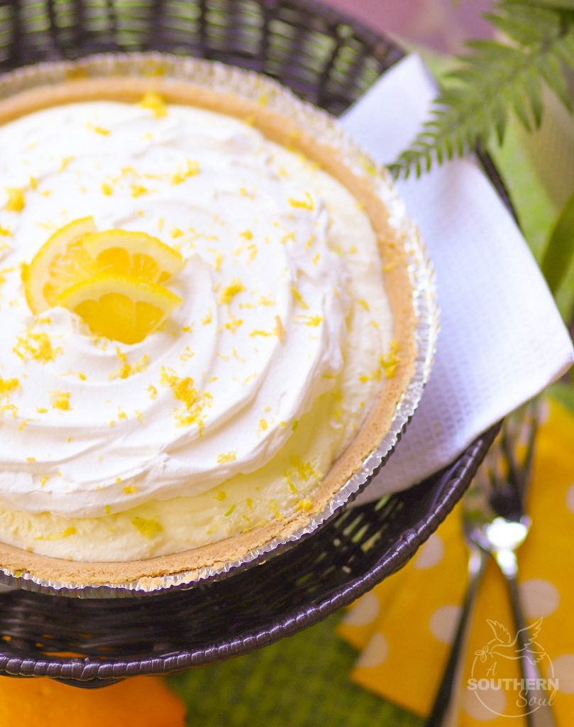 Lemon Icebox Pie is a classic dessert that's super easy to make. Lemon Jello, Cool Whip and a store bought pie crust, you can make this delicious pie in no time.