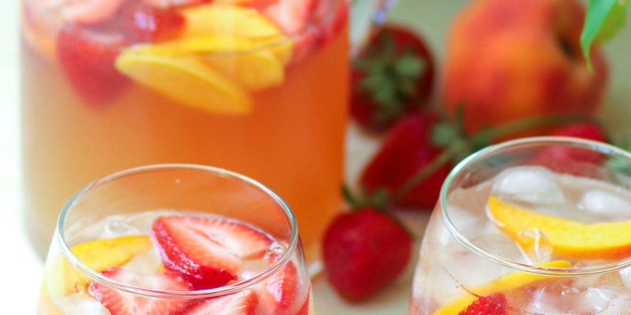 Peachy Rose Sangria