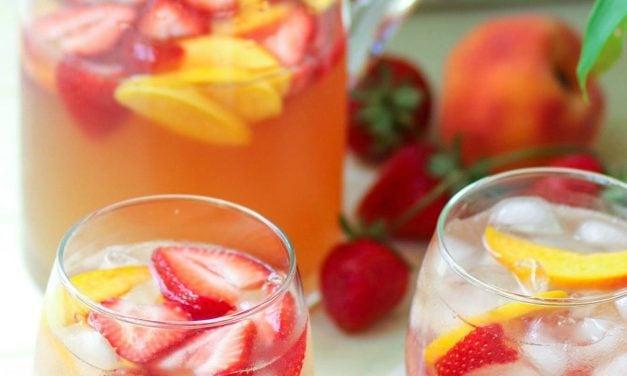 Peachy Rose Sangria