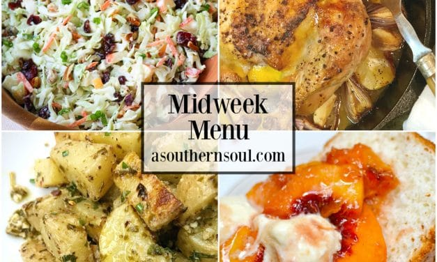 Midweek Menu #53 – Lemon Roasted Chicken