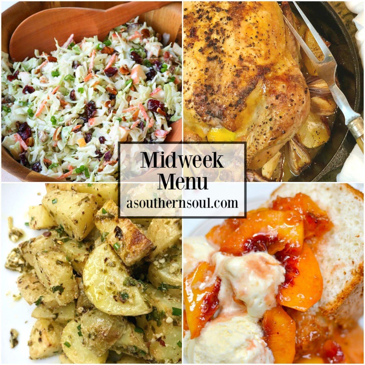 Midweek Menu #53 - Lemon Roasted Chicken