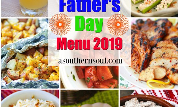 Father's Day Menu 2019