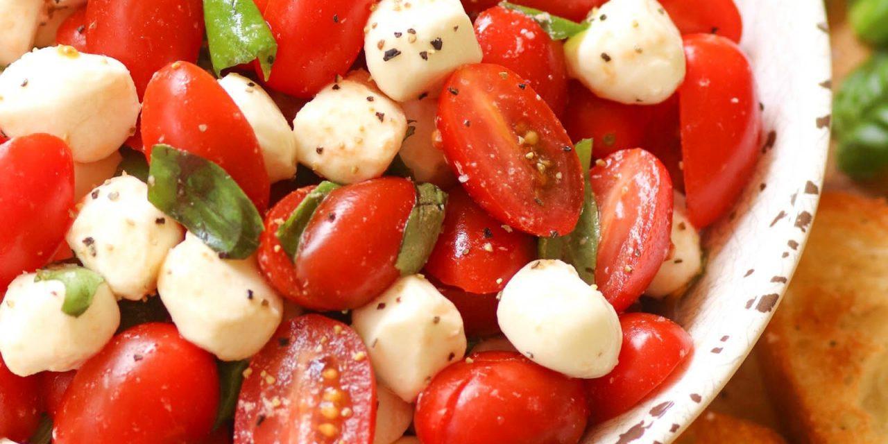 Super Simple Caprese Salad