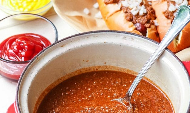 Home Run Hot Dog Chili