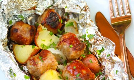 Sausage & Potato Foil Packs