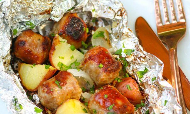 Sausage & Potato Foil Packs