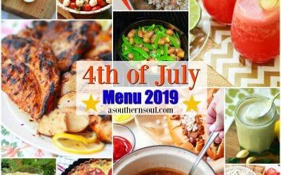 Midweek Menu – 4th of July Menu 2019