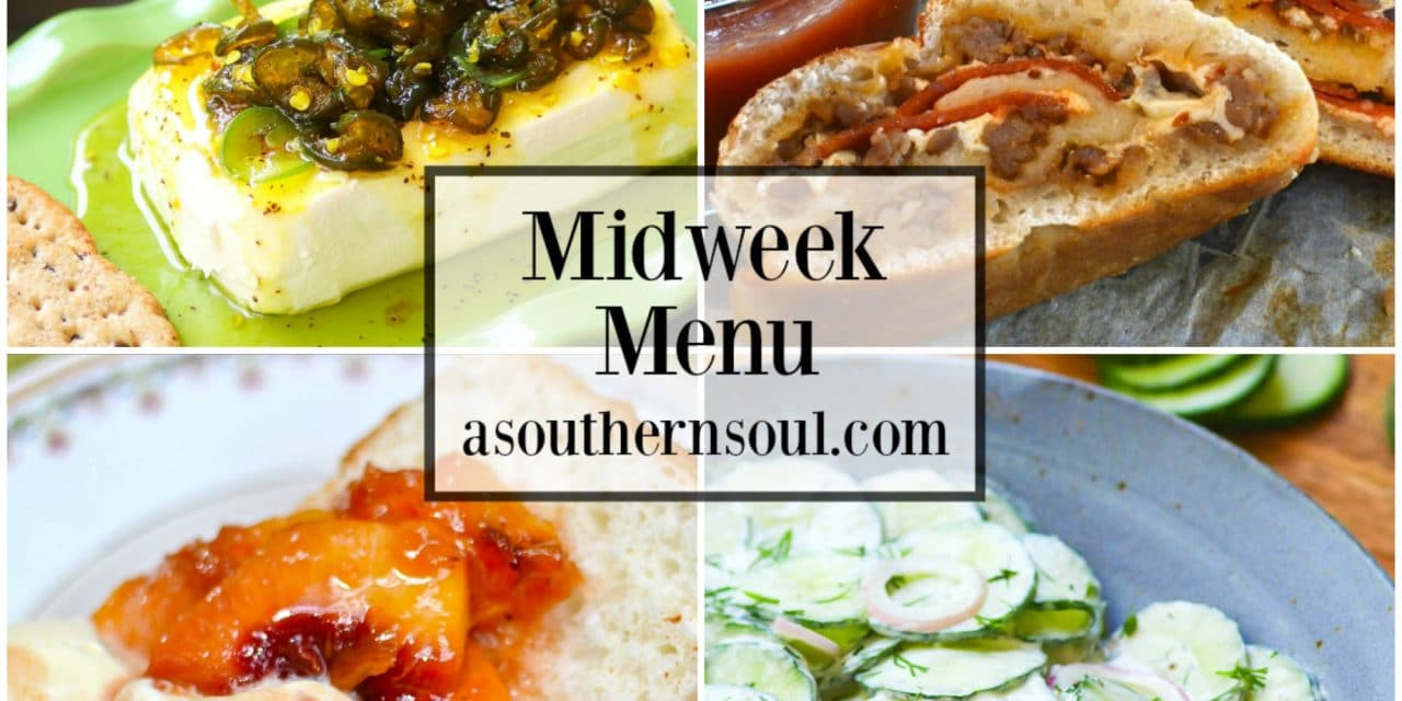 Midweek Menu #55 – Sausage & Pepperoni Stromboli