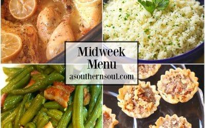 Midweek Menu #56 – Crock Pot Lemon Chicken