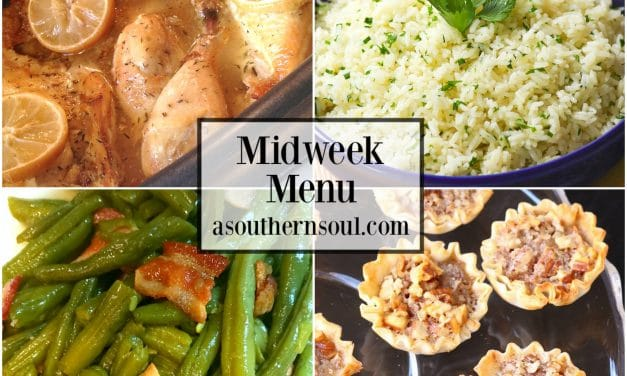 Midweek Menu #56 – Crock Pot Lemon Chicken