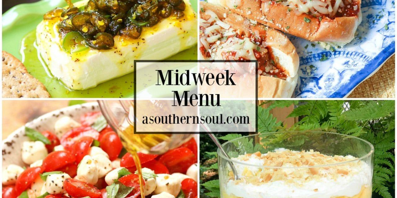 Midweek Menu #58 – Parmesan Meatball Subs