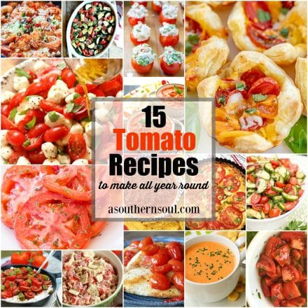 15 Tomato Recipes To Make All Year Round
