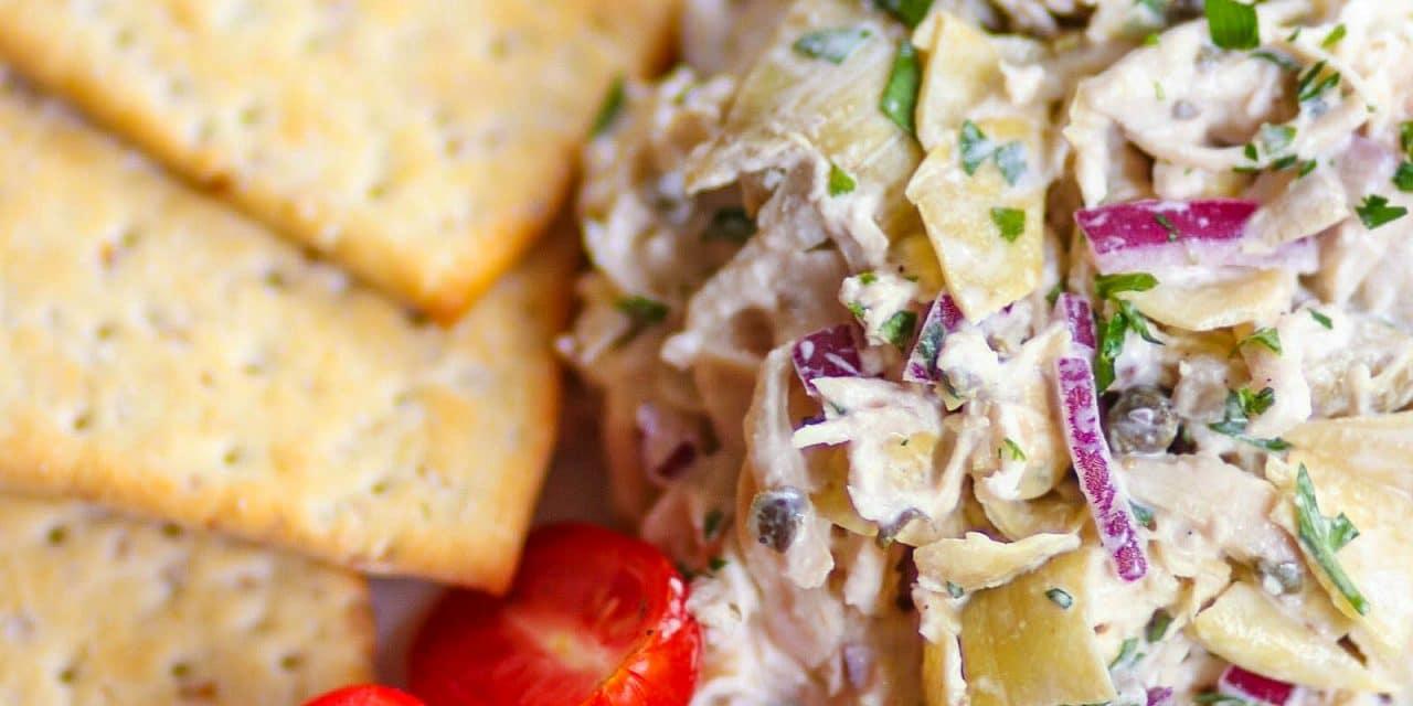 Artichoke Chicken Salad