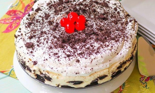 Oreo Cream Icebox Cake