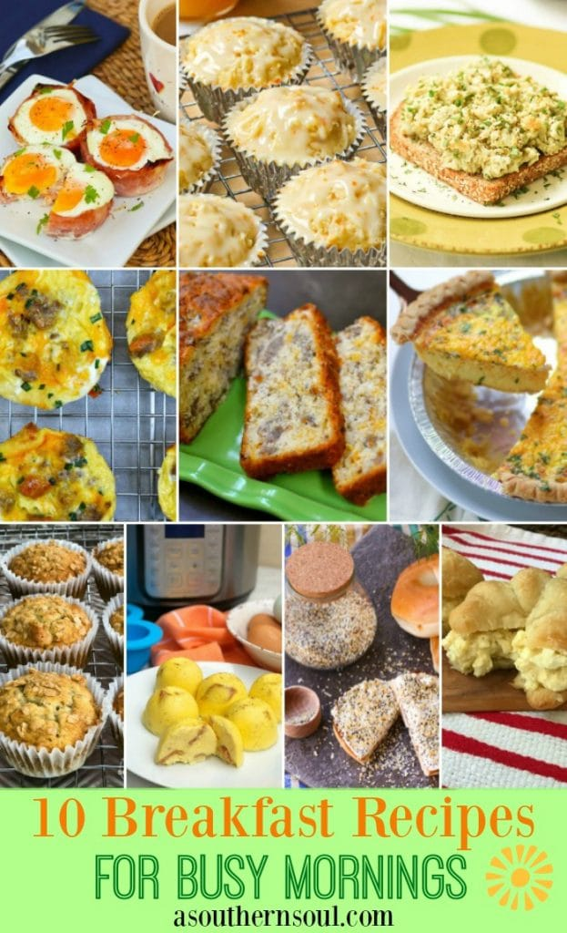 10 breakfast recipe 2019 graphic FB