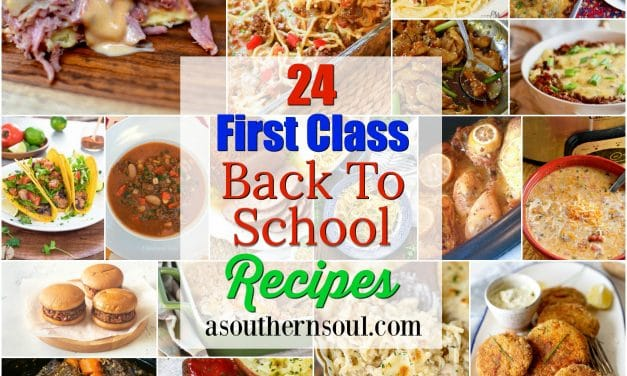 24 First Class Back To School Recipes