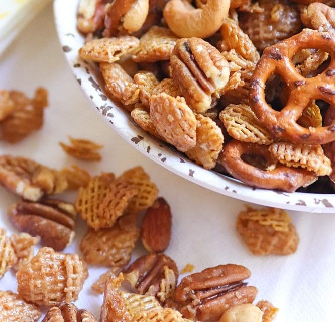 Sweet & Nutty Snack Mix