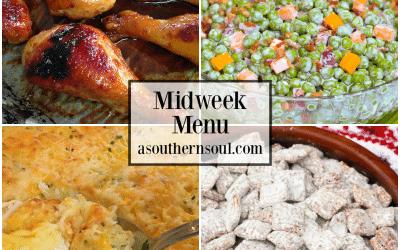 Midweek Menu #63 – Orange Garlic Chicken Legs
