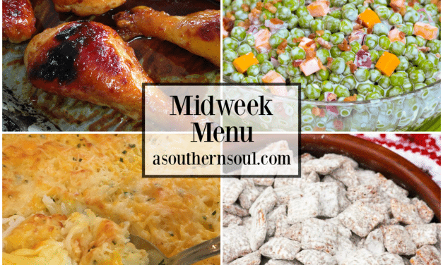 Midweek Menu #63 – Orange Garlic Chicken Legs