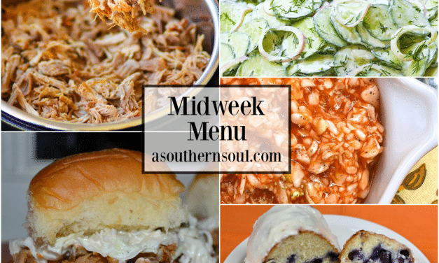 Midweek Menu #64 – Pulled Pork Sliders