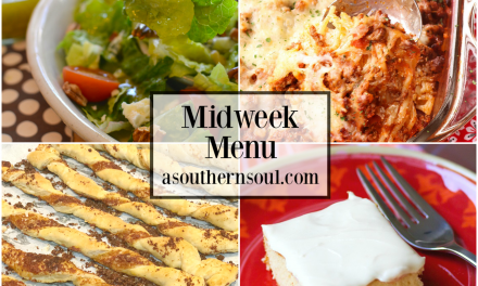 Midweek Menu #65 – Out Of This World Baked Spaghetti
