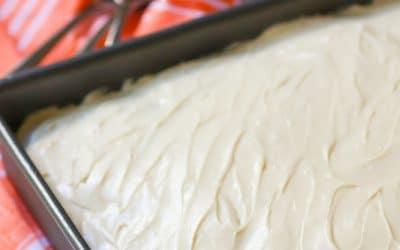 Old Fashioned Caramel Snack Cake