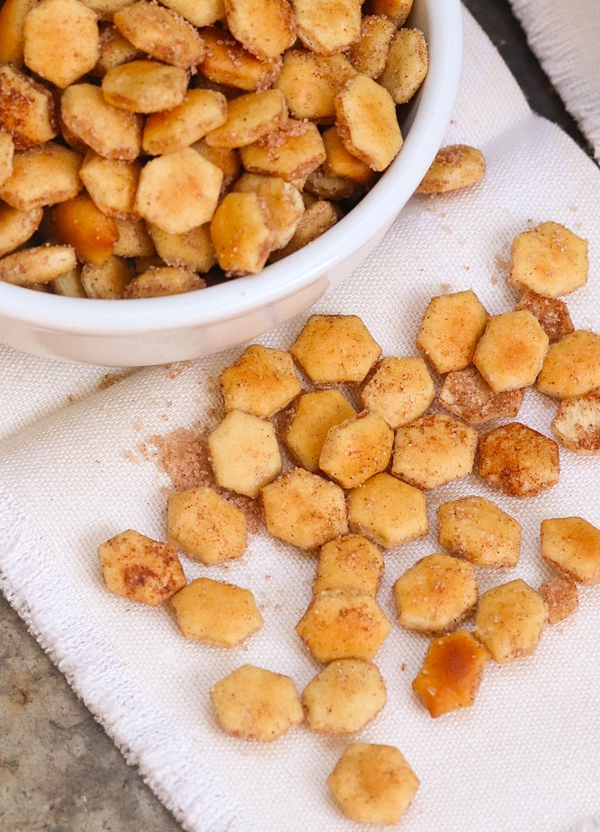 Cinnamon Sugar Crackers