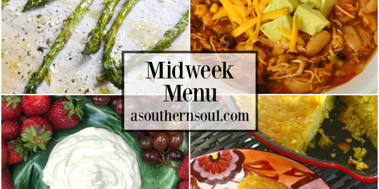 Midweek Menu #67 – Crockpot Chicken Taco Soup