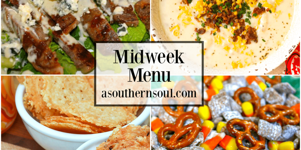 Midweek Menu #68 – Steak Salad & Potato Soup