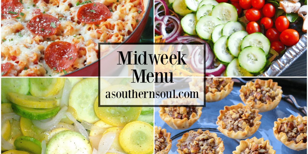 Midweek Menu #69 – Pizza Pasta Bake
