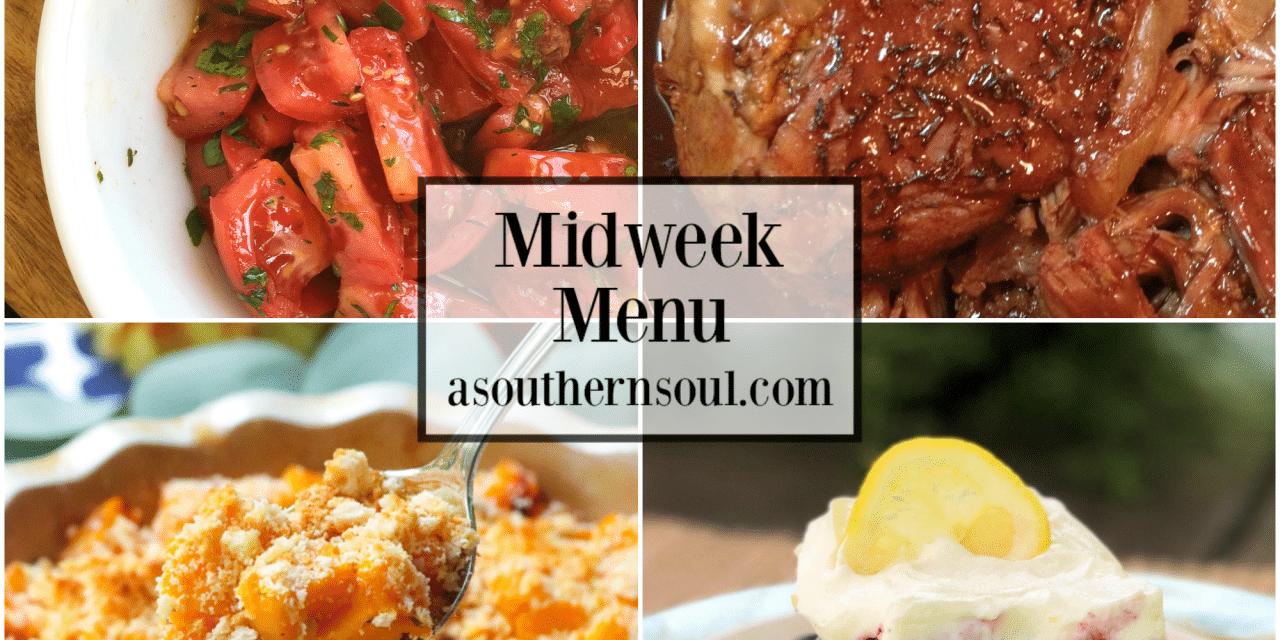 Midweek Menu #70 – Balsamic Brown Sugar Pork Roast