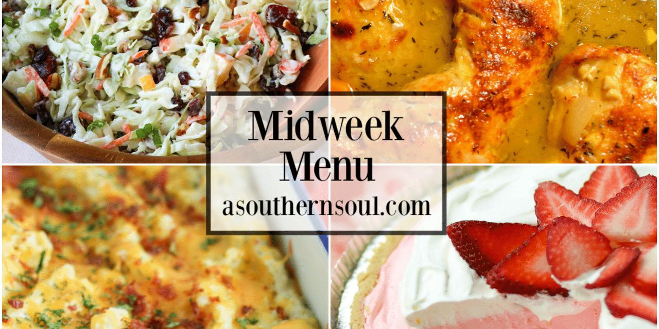 Midweek Menu #71 – Braised Chicken Thighs