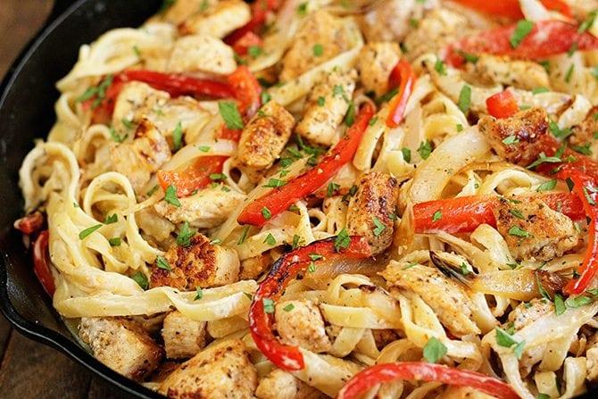 Shortcut Cajun Chicken Pasta