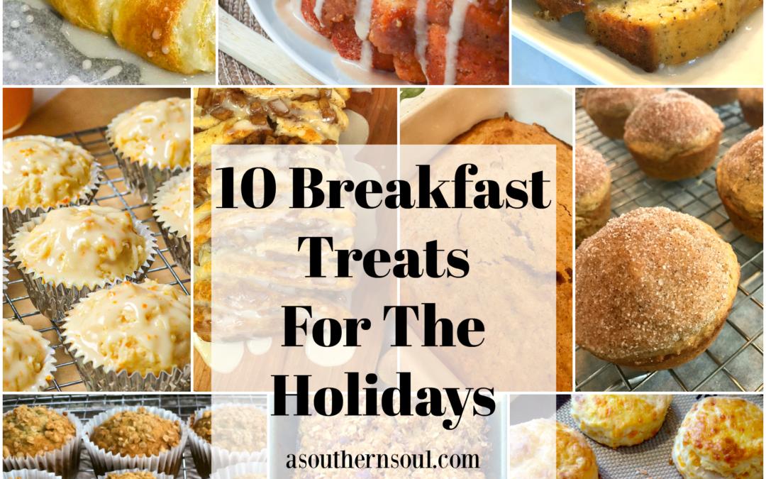 10 Breakfast Treats For The Holidays