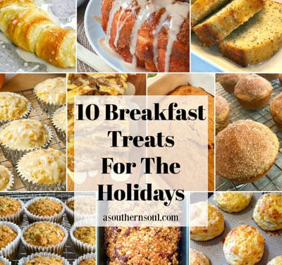 10 Breakfast Treats For The Holidays