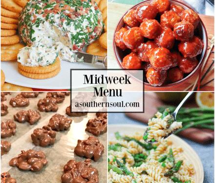 Midweek Menu #74 – Crockpot Meatballs