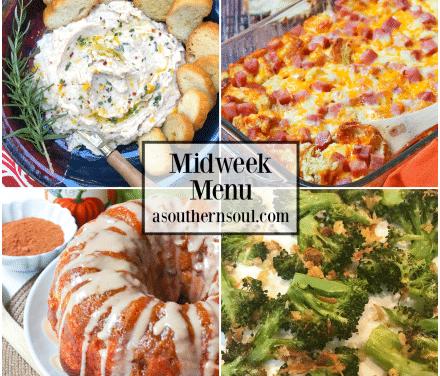 Midweek Menu #75 – Ham And Cheese Strata
